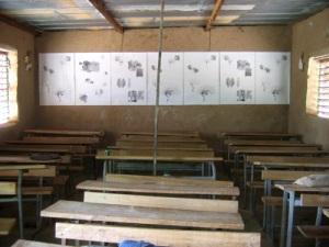 L'exposition dans la salle de classe